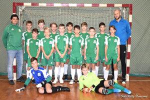 Výber mladších žiakov ObFZ Levice dokázal postúpiť na záverečný turnaj z1. miesta.