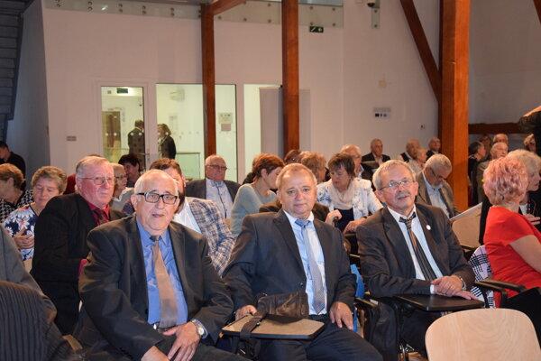 Reprezentanti Okresných organizácií Jednoty dôchodcov na Slovensku.