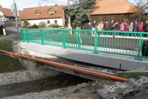 Nový most je strategickým miesto v obci.