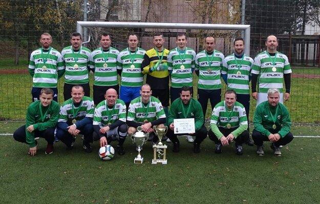 Prvú ligu v malom futbale vyhral celok Zel.