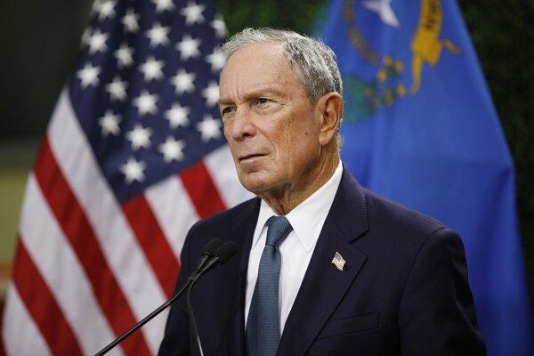 Americký miliardár, podnikateľ a politik Michael Bloomberg.
