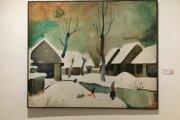 Galéria mesta Bratislavy vystavuje diela Vladimíra Kompánka