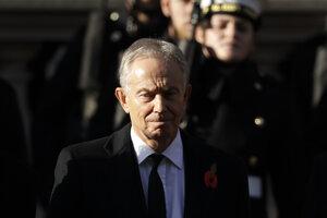 Bývalý britský premiér Tony Blair.