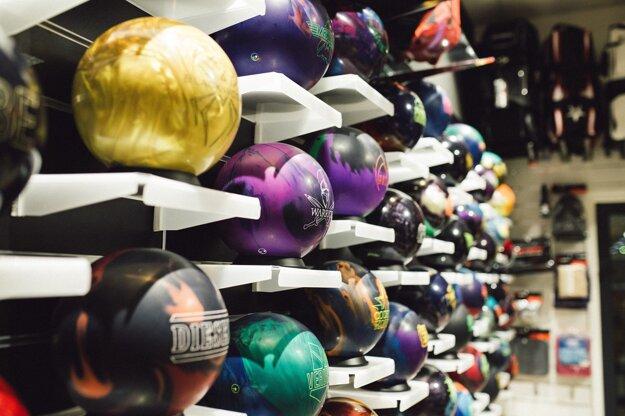 V priestoroch Bowling Academy sa nachádza aj certifikovaný ProShop.