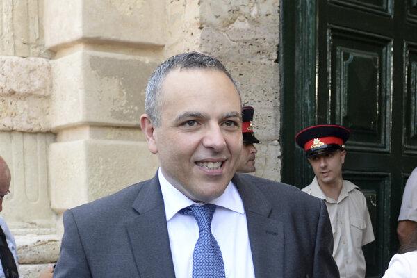 Keith Schembri, šéf kancelárie premiéra Muscata.