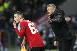 Ole Gunnar Solskjaer, tréner Manchestru United.