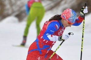 Slovenská bežkyňa na lyžiach Alena Procházková.