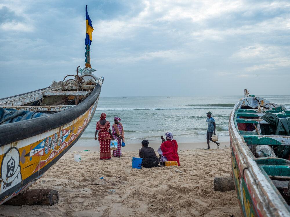 Na pobreží žije viac ako polovica Senegalčanov.