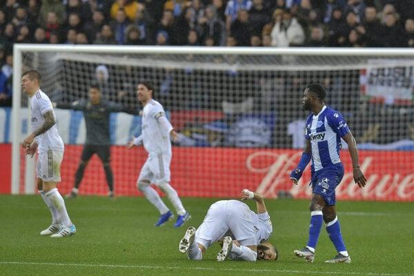 Zápas Real Madrid - Alaves