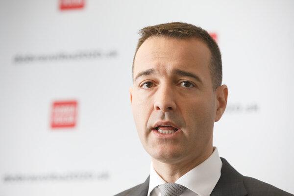 Predseda strany Dobrá voľba Tomáš Drucker.