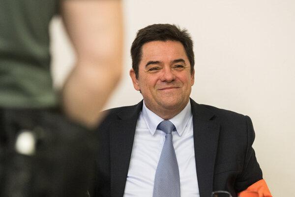 Mafián Marian Kočner na súde.