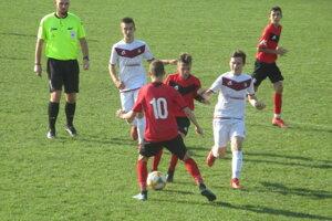 Zo zápasu MŠK Rimavská Sobota vs. FK Železiarne  Podbrezová U15.