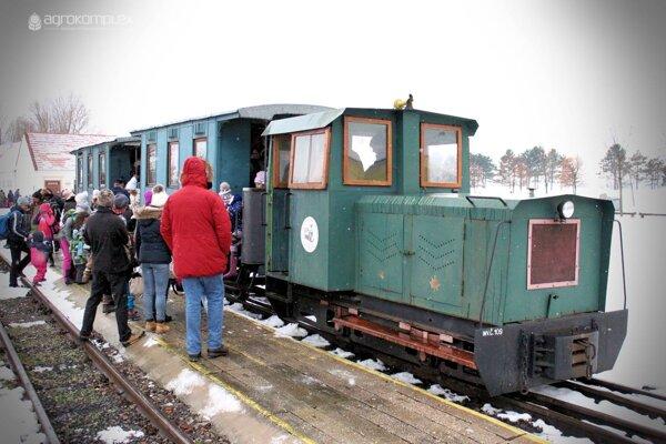 Mikulášsky vlak.