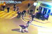 Bitka pred Mariatchi. Záber je z kamerového záznamu.