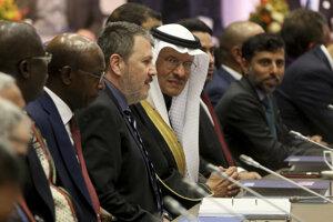 Z rokovania zoskupenia OPEC vo Viedni.