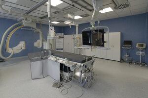 Nové angiografické centrum v michalovskej nemocnici.