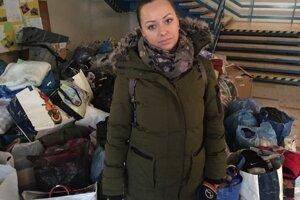 Redaktorka Markízy Veronika Bozdošová tiež musela vynútene opustiť svoje bydlisko v susednej bytovke. Je späť v teréne.