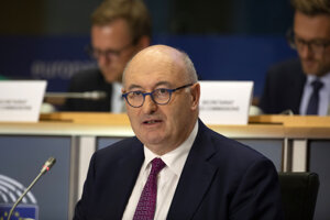 Eurokomisár pre obchod Phil Hogan.