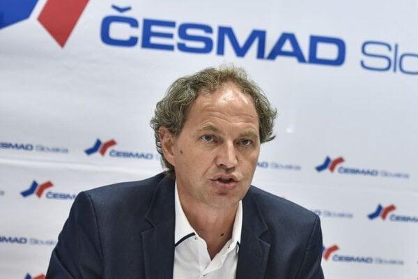 Prezident Česmad Slovakia Pavol Jančovič.