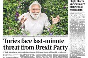 Toryovci čelia na poslednú chvíľu hrozbu strany Brexit.