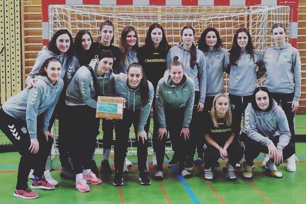 Na prestížnom turnaji Stadtwerk Cup vo Švajčiarsku skončili Michalovčanky na treťom mieste.
