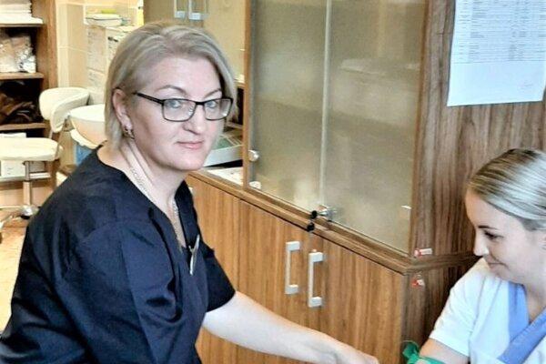 Iveta Krupcová pracuje v zdravotníctve už zhruba 30 rokov.
