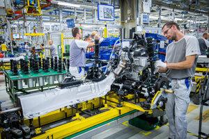 Práca vo Volkswagene