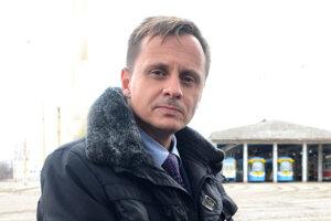 Člen predstavenstva DPMK Jozef Gima.