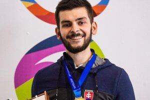 Medaila z letnej univerziády.
