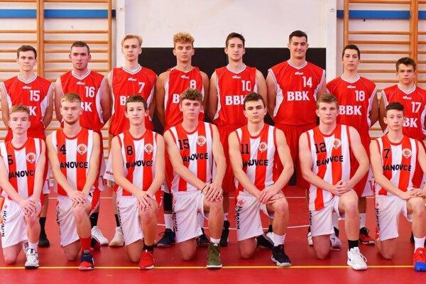 Basketbalisti z Bánoviec.