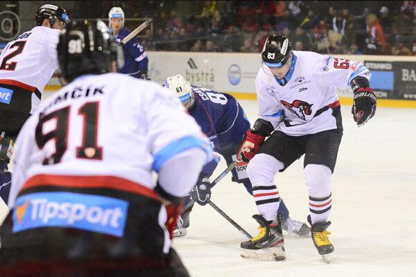 Hokejisti B. Bystrice vyhrali v Budapešti.