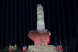 Pamätník začiatku II. sv. vojny na Westerplatte v Gdansku.