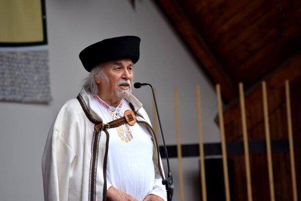 Známy folklorista Pavol Kužma.