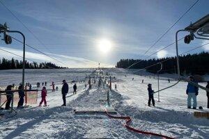 Aktuálna lyžovačka v Lučivnej.