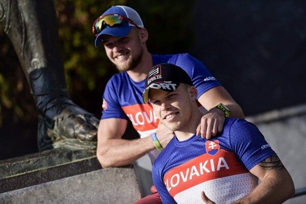 Vľavo Daniel, vprav Vladimír Pagáčovci.