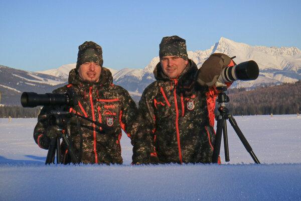 Tomáš Kučera (vľavo) a Michal Uličný (vpravo).