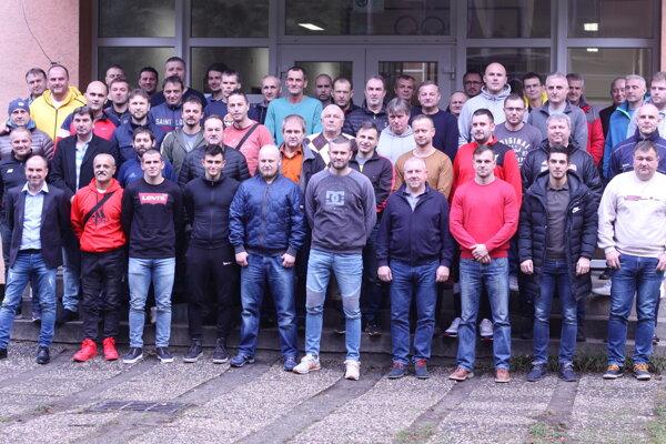 Účastníci seminára.