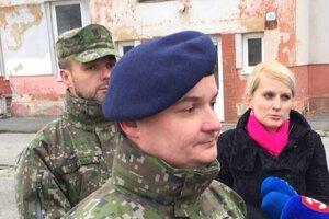 Ocenený príslušník Vojenskej polície rtm. Ján Oňďák.