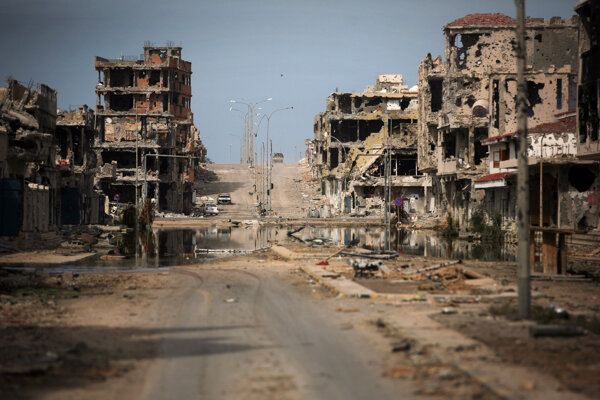 Syrta sa nachádza približne 450 kilometrov východne od Tripolisu.