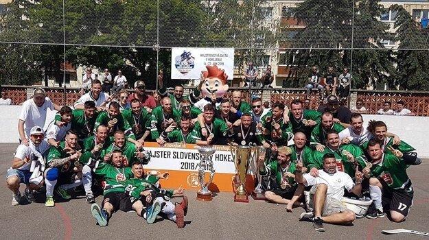 Hokejbalisti Skalice ako Majstri Slovenska