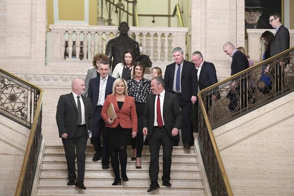 Po troch rokoch sa uskutočnilo zasadnutie parlamentu v Severom Írsku.