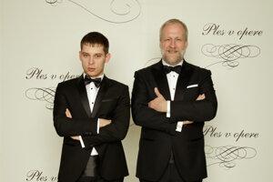 Peter Bebjak, režisér s partnerom Andrejom Dúbravským