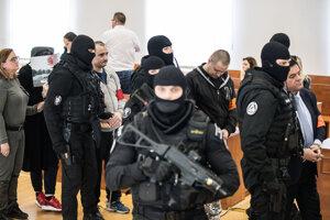 Proces s obvinenými z vraždy Kuciaka z z 19. decembra 2019.