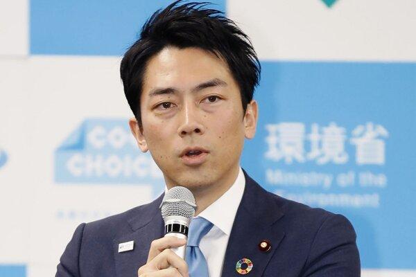 Japonský minister životného prostredia Šindžiró Koizumi.