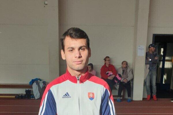 Daniel Kováč získal titul majstra SR.