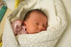 Michaela Masaryková (2720 g, 47 cm) sa narodila 5. januára Lenke a Máriovi z Nového Mesta nad Váhom.