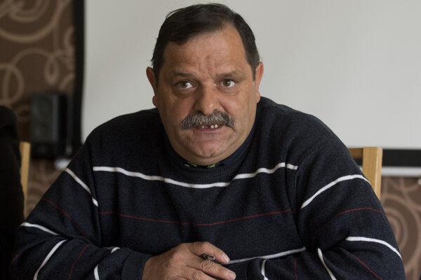 František tanko, predseda občianskeho združenia Únia Rómov na Slovensku.
