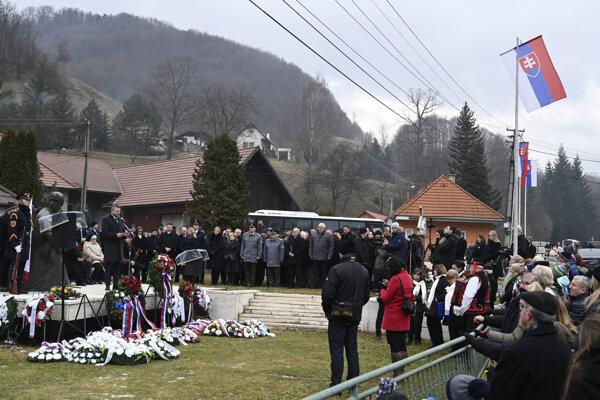 Spomienkové podujatie pri príležitosti 75. výročia vypálenia obcí Ostrý Grúň a Kľak v okrese Žarnovica