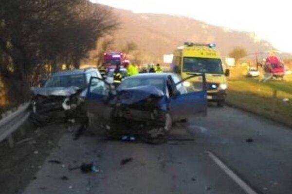 Nehoda pri Zbyňove.