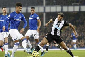 Zápas Everton - Newcastle.